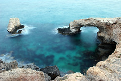 IMG_6171 (Mike Pechyonkin) Tags: sea rock coast cyprus cliffs shore seashore mediterraneansea 2010 agianapa