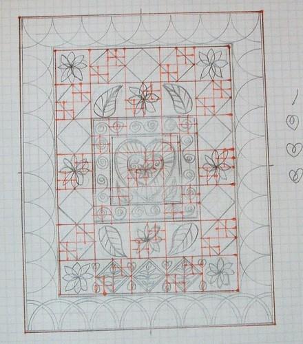 Cariad quilt design 2