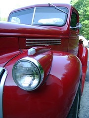 46 chevy (melissa_dawn) Tags: red truck kentucky ky sony curves pointshoot hazard sonycybershot melissamiller melissadawn 46chevychevrolet melissadawnmiller