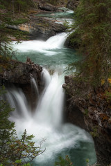 Johnston Canyon (Wherever I Roam) Tags: waterfall canyon johnstoncanyon