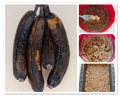 Making Spiced Banana Bread