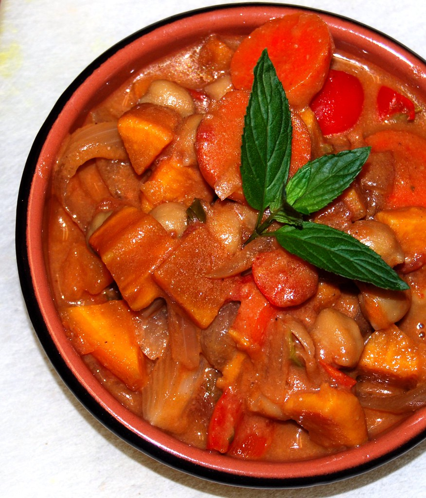 African Peanut-Sweet Potato Stew