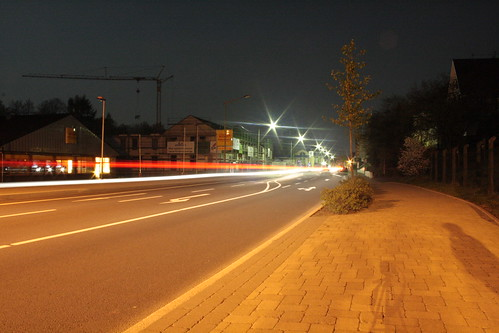 Bergneustadt - my town at night