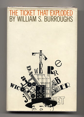 ticket that exploded_william s. burroughs (projectobjectshop) Tags: bookcover williamburroughs roykuhlman