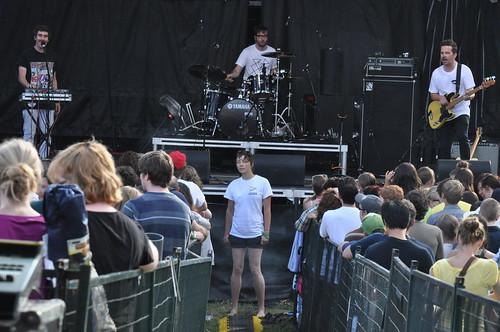 Bear In Heaven at Ottawa Bluesfest 2010