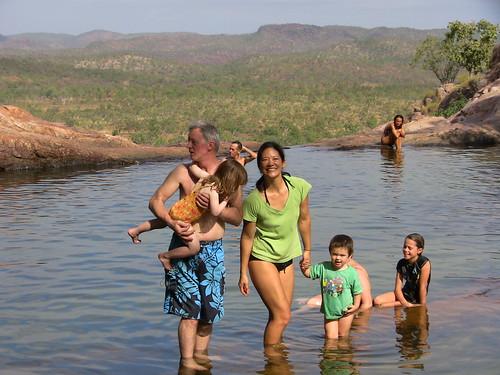 Gunlom Falls (top), Kakadu