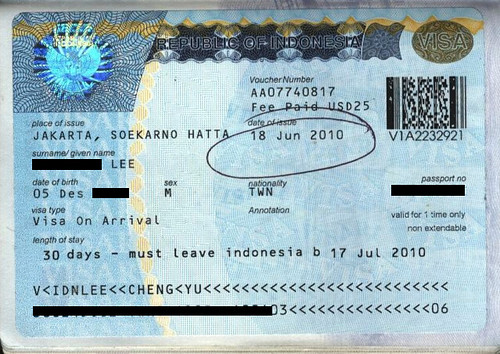 Indonesia Visa