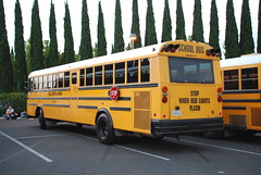 Global 16 (crown426) Tags: california coach disneyland schoolbus anaheim carpenter gradnite