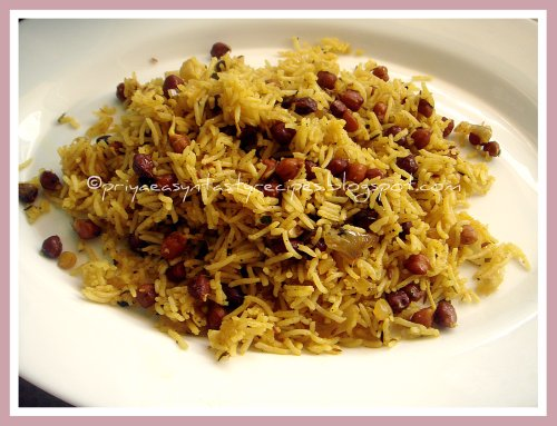 Sprouted Kala Channa & Kasuri Methi Rice