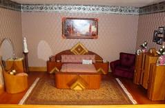 Art Deco Bedroom David & Carol Huffman of Davesattic Miniatures