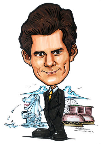 Caricature for Ernst & Young