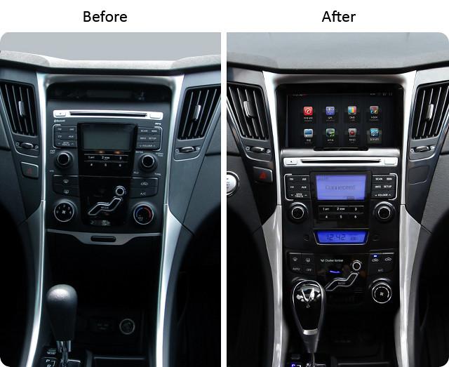 Sonata Double Din Installation Kit Hyundai Forums