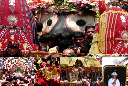 Rathyatra 2010, one festival many rituals