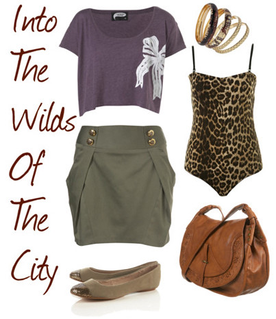 Polyvore: Into The Wilds Of The City