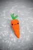 new stye carrot (callie callie jump jump) Tags: cute burlington stuffed vermont crochet craft plush kawaii amigurumi artmarket urbanfarmgirl erinnsimon