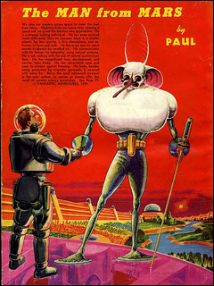 Life on Mars As Envisioned In 1940