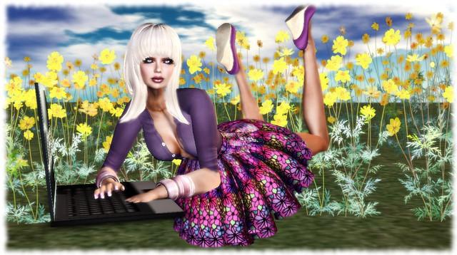 Jardin de Fleurs Skirt 1