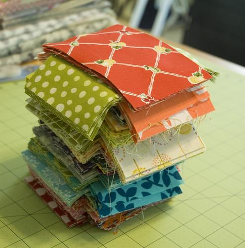 Bee block fabrics