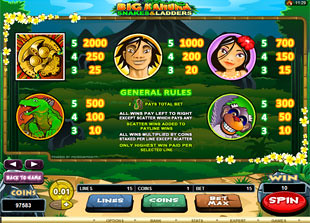 free Big Kahuna Snakes and Ladders slot mini symbol