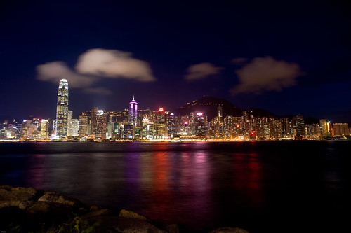 Victoria Harbour @ West Kowloon Waterfront Promenade