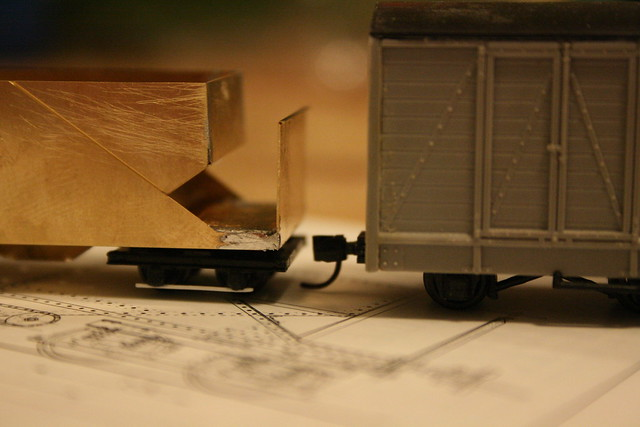 Assembled hopper wagon