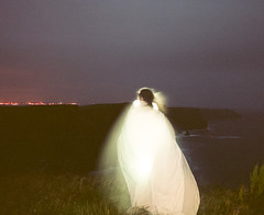 (Gebhart de Koekkoek) Tags: ireland sea night wind ghost roadtrip cliffsofmoher