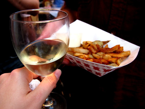 Wine and Frites.