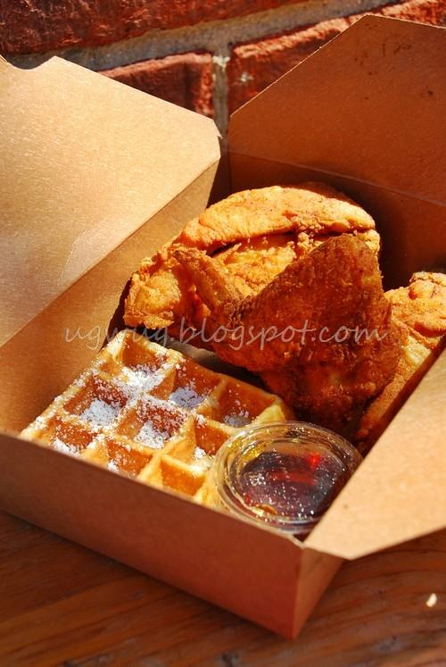 Free range Petaluma Chicken & Waffles