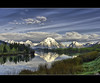 Oxbow Bend From A Distance (Wil_Bloodworth) Tags: mountain mountains reflection clouds river mirror nationalpark searchthebest snakeriver wyoming mountmoran grandtetons 1001nights grandtetonnationalpark oxbowbend bloodworth parkimaging
