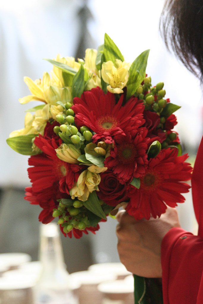 Red Yellow Green Bouquet