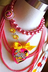 Pink is Pretty Eat Cake Sprinkle Resin Necklace (athinalabella1) Tags: pink paris cute glass yellow cake marie glitter hearts french costume spring yummy rainbow ribbons colorful neon yum candy heart princess sweet kitsch funky jewelry mama pop pearls sugar ring lolita cupcake fantasy bakery bow kawaii tropical valentines cameo glam antoinette ribbon chic sweethearts etsy dots lollipop licorice drama suga tulle couture bows marieantoinette parisian gumballs whimsical frilly conversationhearts pedestal neovictorian shabby frou girlygirl cupcakesprinkles confettisprinkles athinalabella