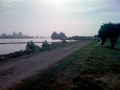 Levee view