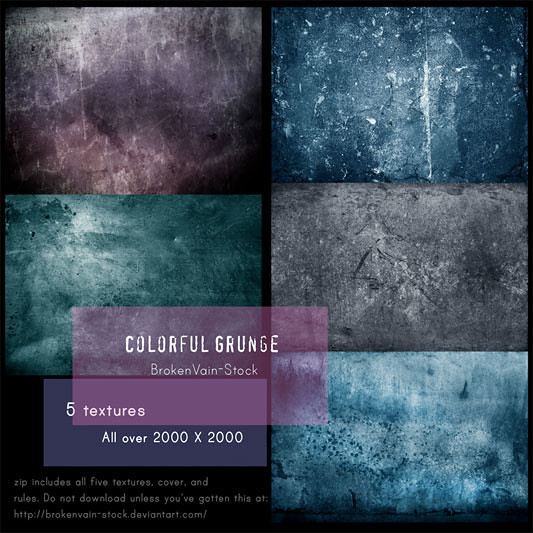 Colorful Grunge Pack