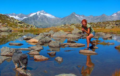 Escursione al lago Klaus in Valle Aurina in Alto Adige