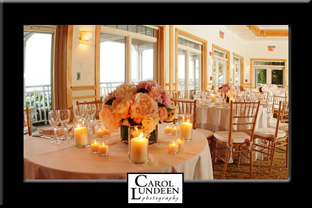 Wequassett Inn wedding banquet room