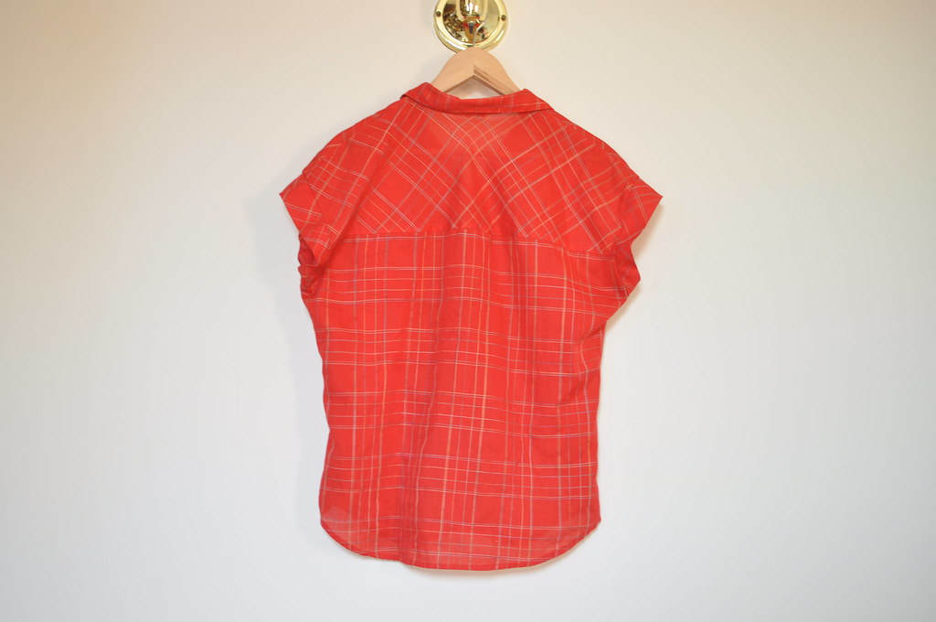 vintage plaid levis shirt