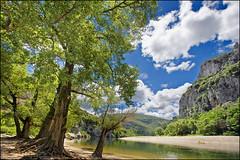 ardèche (heavenuphere) Tags: france river landscape canyon canoe gorge 1022mm ardèche vallonpontdarc rhônealpes gorgesdelardèche gettyfrancesummer