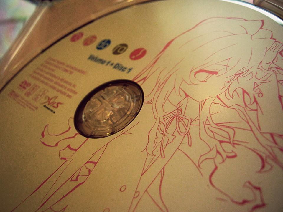 Toradora Volume 1 Disc 1
