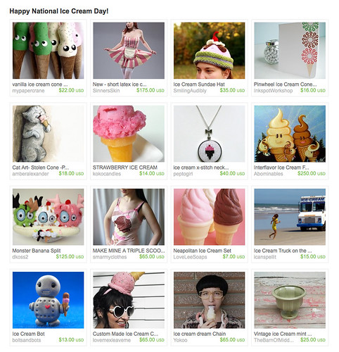 ice cream treasury