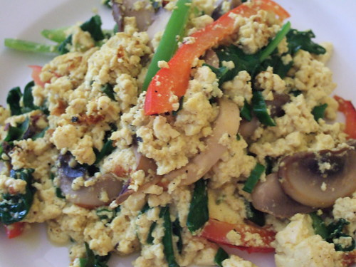 Tofu scramble at Cafe Green