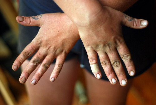 Farm hands!