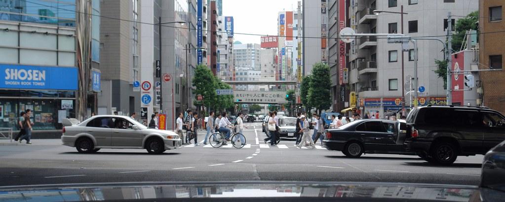 Akihabara crossroad