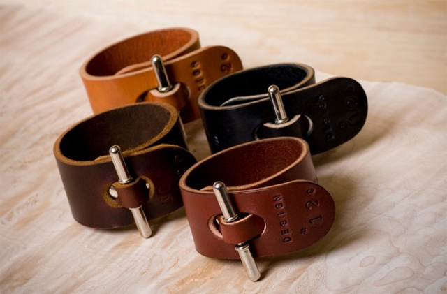 Palmer & Sons Leather Cuffs No 12c 01