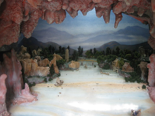 Moon Gate Diorama Close