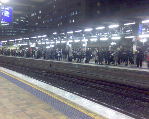 People on platform