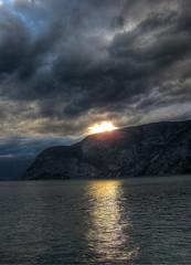 Sunset over Sogndal