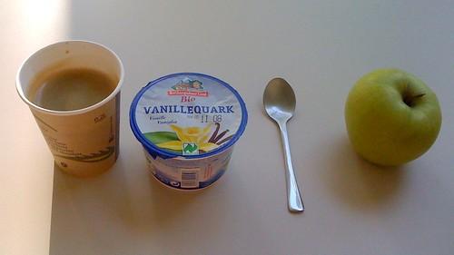 Vanillequark & Apfel