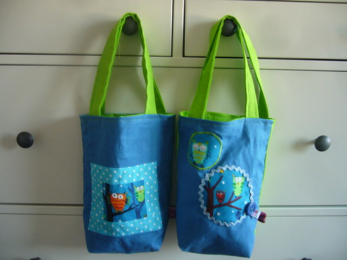 goodie bags.
