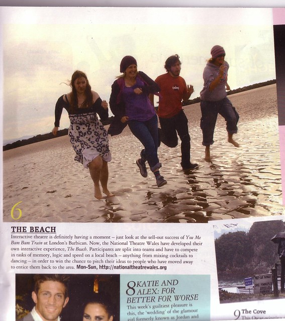 Grazia mag and NTW's The Beach