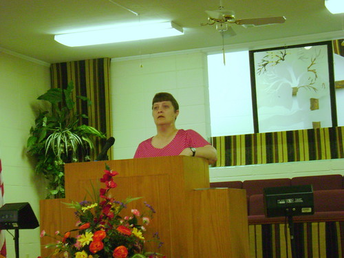 Harmony Baptist Testimony Time